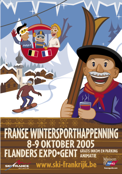Franse Wintersporthappening